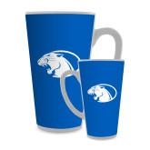 Full Color Latte Mug 17oz-Panther Head