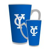 Full Color Latte Mug 17oz-Interlocking YC