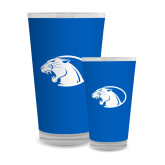 Full Color Glass 17oz-Panther Head