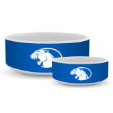 Ceramic Dog Bowl-Panther Head