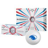 Callaway Supersoft Golf Balls 12/pkg-Panther Head