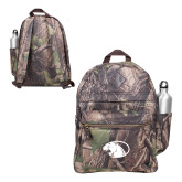 Heritage Supply Camo Computer Backpack-Panther Head