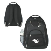 The Ultimate Black Computer Backpack-Panther Head