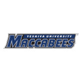 Large Decal-Yeshiva University Maccabees, 12in Wide