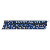 Extra Large Decal-Yeshiva University Maccabees, 18in Wide