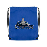Royal Drawstring Backpack-Primary Logo