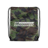 Camo Drawstring Backpack-Yeshiva University Maccabees