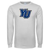 White Long Sleeve T Shirt-YU