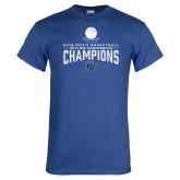 Royal T Shirt-2018 Mens Basketball Champions