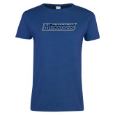 Ladies Royal T Shirt-Yeshiva University Maccabees