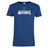 Ladies Royal T Shirt-#ThePrideOfTheMaccabees