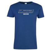 Ladies Royal T Shirt-Soccer