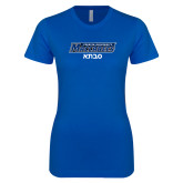 Next Level Ladies SoftStyle Junior Fitted Royal Tee-Savta