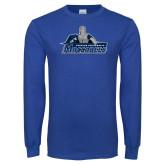 Royal Long Sleeve T Shirt-Primary Logo