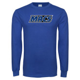 Royal Long Sleeve T Shirt-Macs