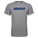 Grey T Shirt-Yeshiva University Maccabees
