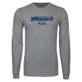 Grey Long Sleeve T Shirt-Abba