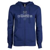 ENZA Ladies Royal Fleece Full Zip Hoodie-2018 Skyline Mens Tennis Champions