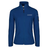 Columbia Ladies Full Zip Royal Fleece Jacket-Yeshiva University Maccabees