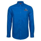 Red House French Blue Long Sleeve Shirt-Primary Logo