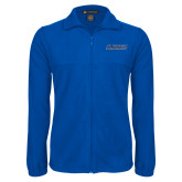 Fleece Full Zip Royal Jacket-Yeshiva University Maccabees
