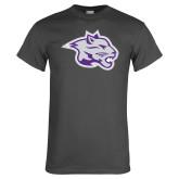 Charcoal T Shirt-Spirit Mark