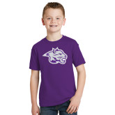 Youth Purple T Shirt-Spirit Mark