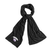Black Eco Jersey Bundle Up Scarf-Official Logo