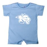 Light Blue Infant Romper-Spirit Mark