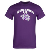 Purple T Shirt-Dad