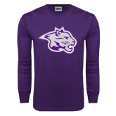 Purple Long Sleeve T Shirt-Spirit Mark