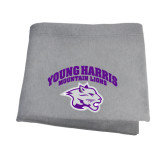 Grey Sweatshirt Blanket-Official Logo