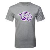 Grey T Shirt-Spirit Mark