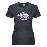 Ladies Dark Heather T Shirt-Spirit Mark