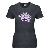 Ladies Dark Heather T Shirt-Spirit Mark