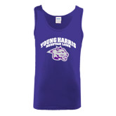 Purple Tank Top-Official Logo