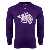 Under Armour Purple Long Sleeve Tech Tee-Spirit Mark