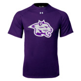 Under Armour Purple Tech Tee-Spirit Mark