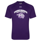Under Armour Purple Tech Tee-Softball