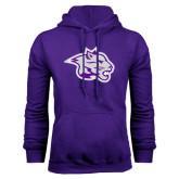 Purple Fleece Hoodie-Spirit Mark