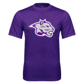 Performance Purple Tee-Spirit Mark
