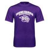 Syntrel Performance Purple Tee-Basketball