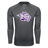 Under Armour Carbon Heather Long Sleeve Tech Tee-Spirit Mark
