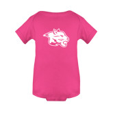 Fuchsia Infant Onesie-Spirit Mark