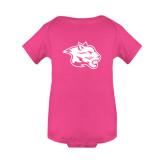 Fuchsia Infant Onesie-Spirit Mark