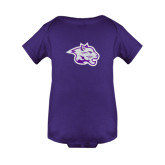 Purple Infant Onesie-Spirit Mark