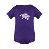 Purple Infant Onesie-Spirit Mark