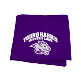 Purple Sweatshirt Blanket-Official Logo