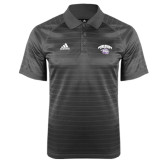 Adidas Climalite Charcoal Jaquard Select Polo-Official Logo