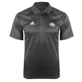 Adidas Climalite Charcoal Jaquard Select Polo-Spirit Mark